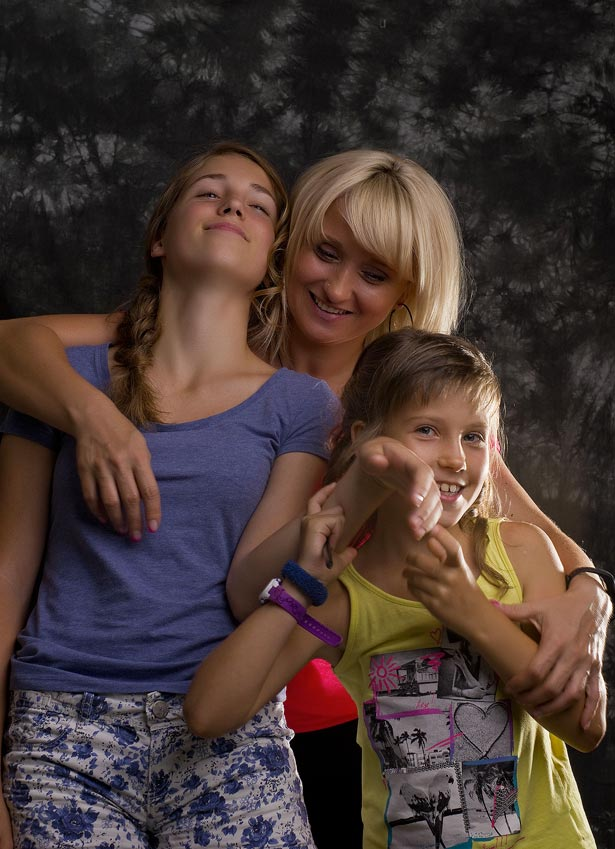 Poslovna Fotografija Frizerski Salon Vaupotic Trio Portret