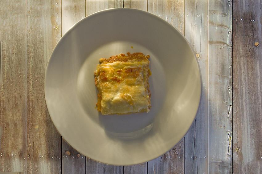 Poslovna Fotografija Hrana Lazanja Straciatela